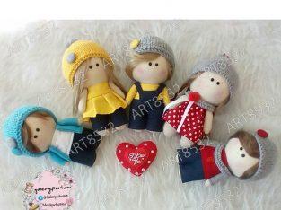 عروسک روسی بافتنی