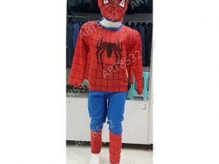 ست لباس مرد عنکبوتی