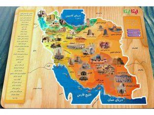 پازل چوبی اماکن تاریخی ایران