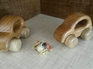 فولکس کوچک چوبی